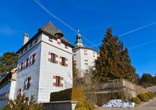 Pałac Ambras, Innsbruck - Austria Fotografia Stock