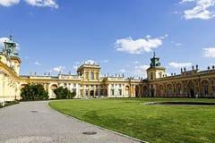 Pałac budujący dla królewiątka Jan III Sobieski Obraz Stock