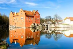 Pałac Cervena Lhota Zdjęcia Royalty Free