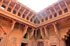 Pałac, Czerwony fort obraz royalty free