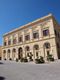 Pałac D'Ali, Trapani, Sicily, Włochy obrazy royalty free