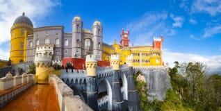 Pałac da Pena obraz royalty free