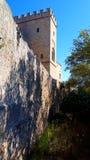 Pałac Grandmaster na wyspie Rhodes w Grecja zdjęcie royalty free