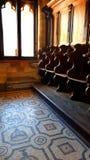 Pałac Grandmaster na wyspie Rhodes w Grecja obrazy stock