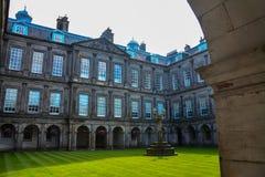 Pałac Holyroodhouse Fotografia Stock