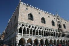 pałac jest Włoch doży Wenecji zdjęcia royalty free