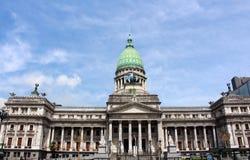 Pałac kongres narodowy Argentyna w Buenos Aires obraz stock