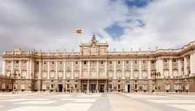 pałac królewski madrid Zdjęcie Stock