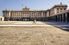 Pałac Królewski, Madryt Zdjęcia Stock