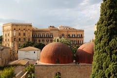 Pałac królewski, Palermo zdjęcie stock