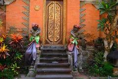 Pałac królewski, Ubud, Bali, Indonezja obrazy stock