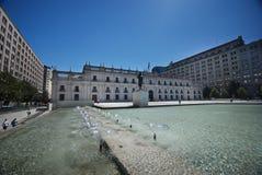Pałac Los Angeles Moneda w Santiago obrazy royalty free