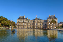 pałac luxembourg Paryża Obraz Royalty Free