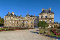 pałac luxembourg Paryża Fotografia Stock