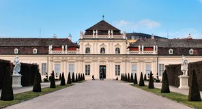 Pałac mały Belweder Zdjęcie Royalty Free