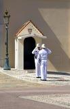 Pałac Monaco jest oficjalną rezydencją książe Monaco Fotografia Stock