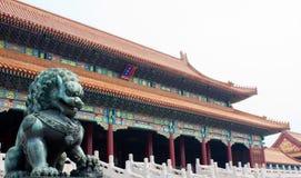 Pałac muzeum, Zakazujący miasto, Pekin, Chiny Obraz Stock