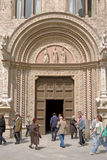 pałac Perugia przeorzy Zdjęcie Royalty Free