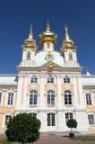 pałac peterhof Petersburg petrodvorets świątobliwi Fotografia Royalty Free