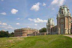 Pałac Po drugie Wielki królowa Ekaterina zdjęcie royalty free