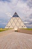 Pałac pokój i porozumienie - ostrosłup Astana, Kazachstan (,) obraz royalty free