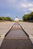 Pałac pokój i porozumienie - ostrosłup Astana, Kazachstan z wodą na przodzie (,) obraz royalty free