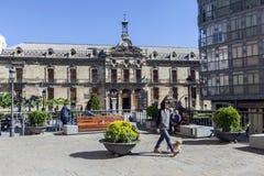 Pałac rada okręgowa Jaen neoklasyczna fasada jest Fotografia Royalty Free