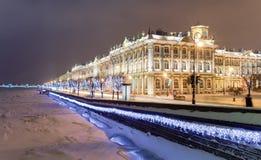 pałac rastrelli zima obrazy royalty free