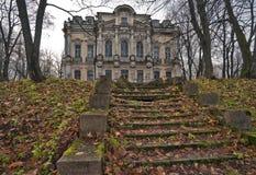 pałac rujnujący schody Zdjęcie Royalty Free