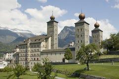 pałac stockalper Zdjęcia Royalty Free