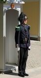 Pałac strażnik, Oslo Obrazy Stock