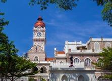 Pałac sułtan Abdul Samad w Kuala Lumpur Zdjęcia Royalty Free
