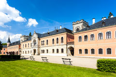 Pałac Sychrov Obrazy Stock