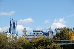 Pałac szczegół w Izmailovo Zdjęcia Royalty Free