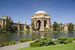 Pałac sztuki piękna, San Fransisco, Kalifornia, usa Obraz Stock