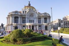 Pałac sztuki piękna w Meksyk Zdjęcie Stock