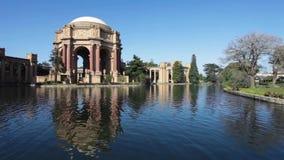 Pałac sztuki piękna w ranku zdjęcie wideo