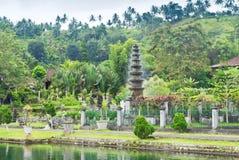 pałac tirtagangga woda Zdjęcie Royalty Free
