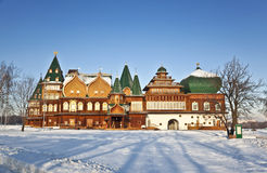 Pałac Tsar Alexei Mikhailovich. Kolomenskoye. Moskwa Zdjęcia Royalty Free