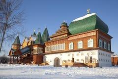 Pałac Tsar Alexei Mikhailovich. Kolomenskoye. Moskwa Obrazy Royalty Free