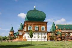 Pałac Tsar Alexei Mikhailovich. Kolomenskoye. Moskwa Fotografia Stock