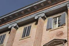 Pałac w Gubbio †'Włochy Obraz Royalty Free