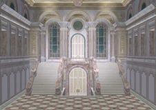 Pałac wejście ilustracji