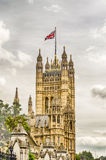 Pałac Westminister, domy parlament, Londyn Obrazy Stock
