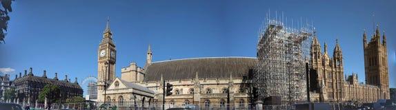 Pałac Westminister pod przywróceniem obrazy stock