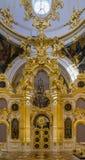 pałac wewnętrzna zima Fotografia Royalty Free