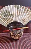 pałeczki misek ryżu Obrazy Royalty Free