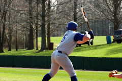 pałkarz baseballu Zdjęcie Stock