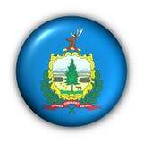państwa bandery guzik rundę Vermont usa ilustracja wektor