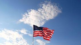 państwa bandery zjednoczonej ameryki blue czerwonym white U S, A, Gra główna rolę lampasy, lata z niebieskim niebem zbiory